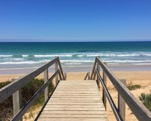 Steps to the Ocean Grove Beach